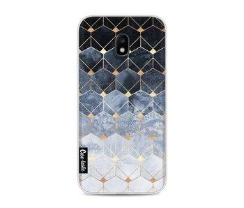 Blue Hexagon Diamonds - Samsung Galaxy J3 (2017)