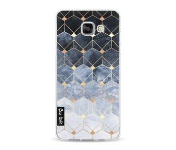 Blue Hexagon Diamonds - Samsung Galaxy A5 (2016)