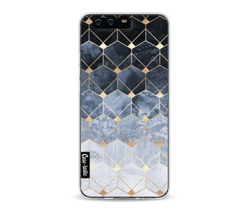 Blue Hexagon Diamonds - Huawei P10