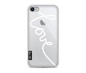 Written Love White - Apple iPhone 8