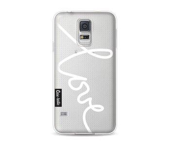 Written Love White - Samsung Galaxy S5