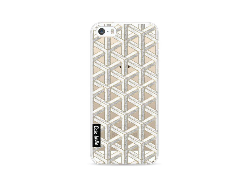 Casetastic Softcover Apple iPhone 5 / 5s / SE - Abstract Marble Transparent