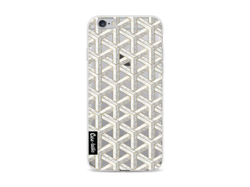 Casetastic Softcover Apple iPhone 6 / 6s - Abstract Marble Transparent