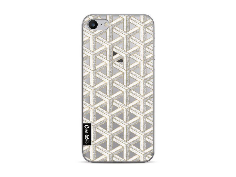 Casetastic Softcover Apple iPhone 7 - Abstract Marble Transparent
