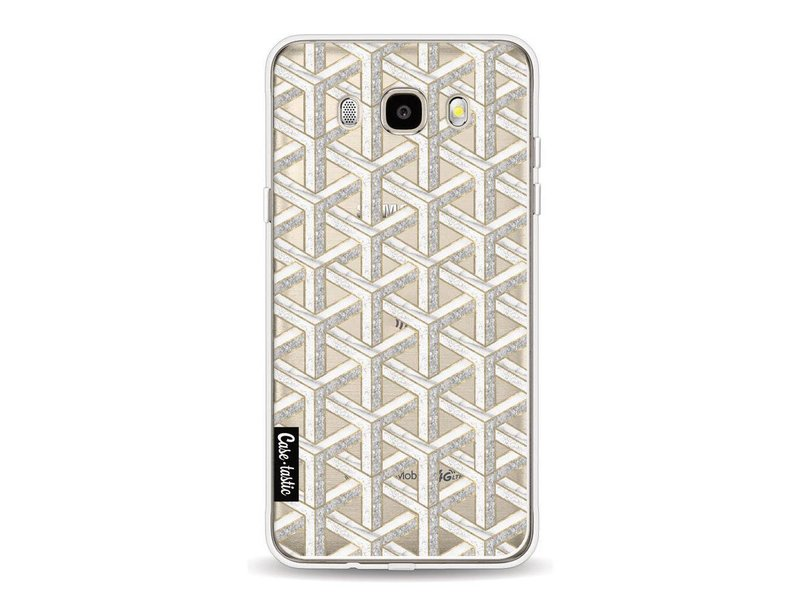 Casetastic Softcover Samsung Galaxy J5 (2016) - Abstract Marble Transparent