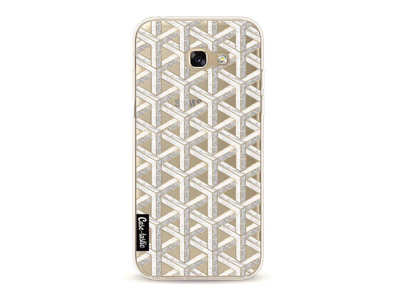 Casetastic Softcover Samsung Galaxy A5 (2017)  - Abstract Marble Transparent