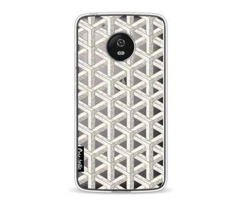 Abstract Marble Transparent - Motorola Moto G5