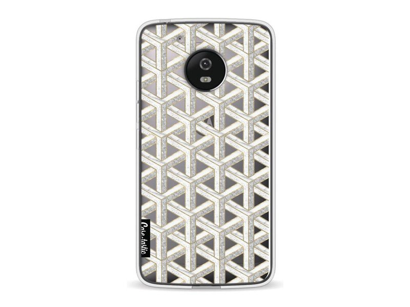 Casetastic Softcover Motorola Moto G5 - Abstract Marble Transparent