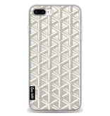 Casetastic Softcover Apple iPhone 8 Plus - Abstract Marble Transparent
