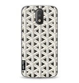 Casetastic Softcover Motorola Moto G4 / G4 Plus - Abstract Marble Transparent