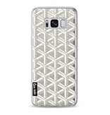Casetastic Softcover Samsung Galaxy S8 - Abstract Marble Transparent