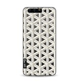 Casetastic Softcover Huawei P10 - Abstract Marble Transparent