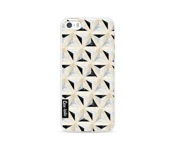 Marble Triangle Blocks - Apple iPhone 5 / 5s / SE