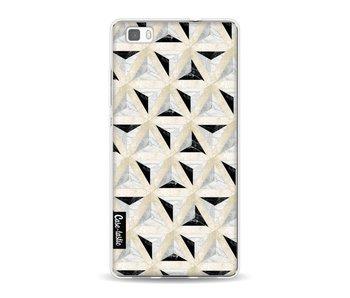 Marble Triangle Blocks - Huawei P8 Lite