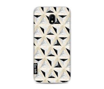 Marble Triangle Blocks - Samsung Galaxy J3 (2017)