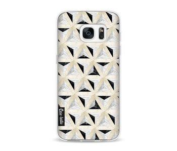 Marble Triangle Blocks - Samsung Galaxy S7