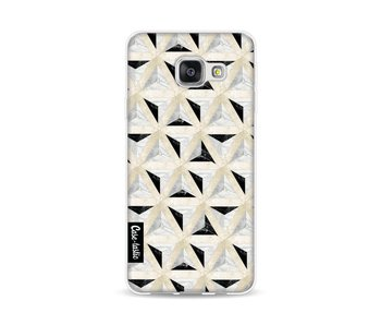 Marble Triangle Blocks - Samsung Galaxy A3 (2016)