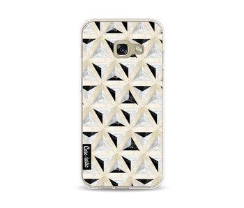 Marble Triangle Blocks - Samsung Galaxy A3 (2017)