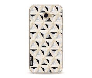 Marble Triangle Blocks - Samsung Galaxy A5 (2017)