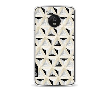 Marble Triangle Blocks - Motorola Moto G5