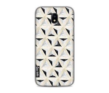 Marble Triangle Blocks - Samsung Galaxy J5 (2017)