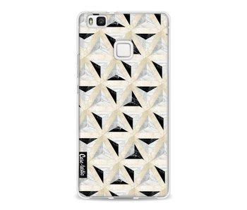 Marble Triangle Blocks - Huawei P9 Lite