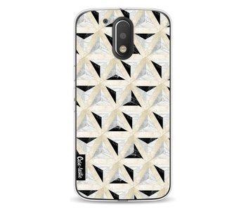 Marble Triangle Blocks - Motorola Moto G4 / G4 Plus