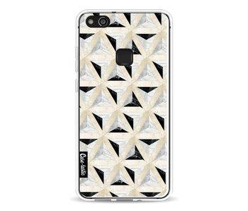 Marble Triangle Blocks - Huawei P10 Lite