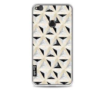 Marble Triangle Blocks - Huawei P8 Lite (2017)