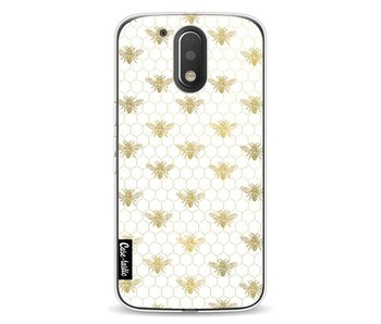 Golden Honey Bee - Motorola Moto G4 / G4 Plus