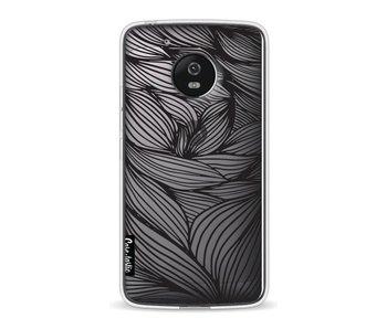 Wavy Outlines Black - Motorola Moto G5