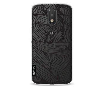 Wavy Outlines Black - Motorola Moto G4 / G4 Plus