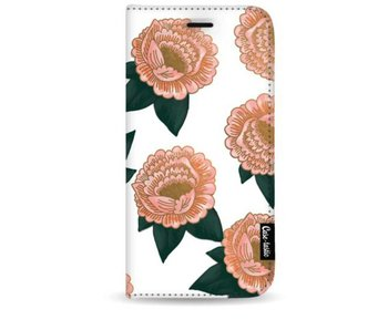 Winterly Flowers - Wallet Case White Apple iPhone 8 Plus