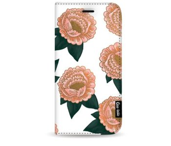 Winterly Flowers - Wallet Case White Samsung Galaxy S8 Plus