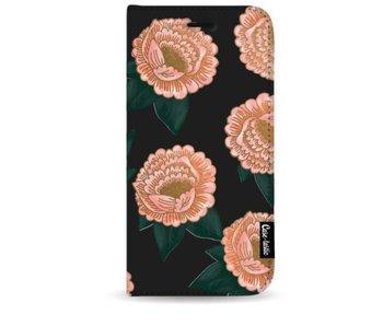 Winterly Flowers - Wallet Case Black Samsung Galaxy Note 8