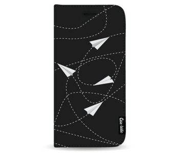 Paperplanes - Wallet Case Black Samsung Galaxy Note 8