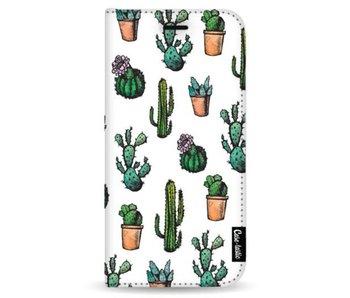 Cactus Dream - Wallet Case White Samsung Galaxy Note 8