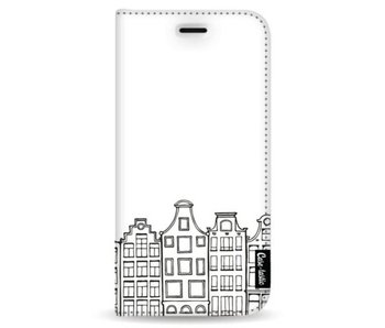 Amsterdam Canal Houses - Wallet Case White Samsung Galaxy Note 8