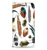 Casetastic Wallet Case White Samsung Galaxy Note 8 - Feathers Multi