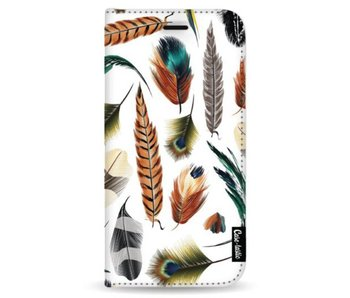 Feathers Multi - Wallet Case White Samsung Galaxy Note 8