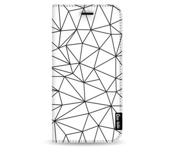 So Many Lines! Black - Wallet Case White Samsung Galaxy Note 8