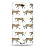 Casetastic Wallet Case White Samsung Galaxy Note 8 - Hunting Leopard