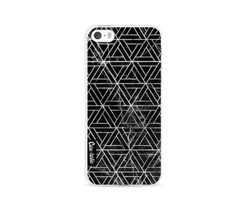 Abstract Marble Triangles - Apple iPhone 5 / 5s / SE