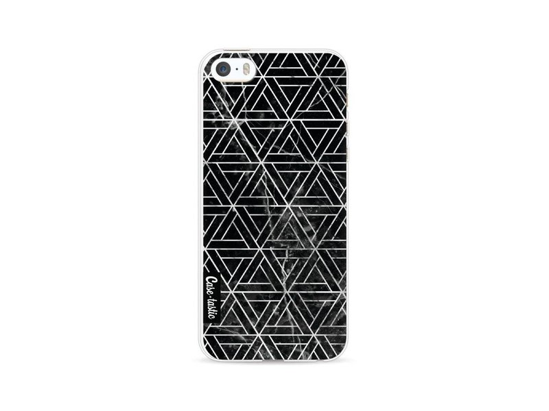 Casetastic Softcover Apple iPhone 5 / 5s / SE - Abstract Marble Triangles