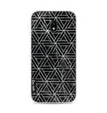 Casetastic Softcover Samsung Galaxy J3 (2017) - Abstract Marble Triangles