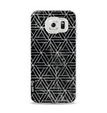 Casetastic Softcover Samsung Galaxy S6 - Abstract Marble Triangles