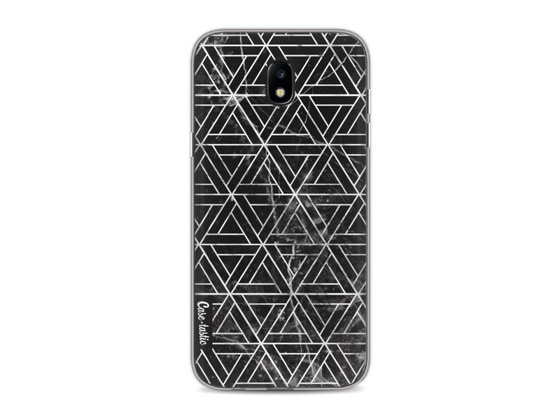 Casetastic Softcover Samsung Galaxy J5 (2017) - Abstract Marble Triangles