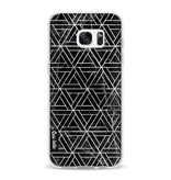 Casetastic Softcover Samsung Galaxy S7 Edge - Abstract Marble Triangles
