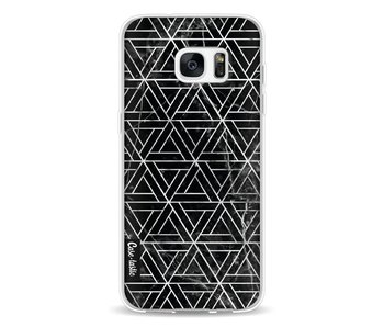 Abstract Marble Triangles - Samsung Galaxy S7 Edge