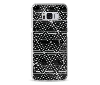 Abstract Marble Triangles - Samsung Galaxy S8